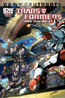TRANSFORMERS MORE THAN MEETS THE EYE #31